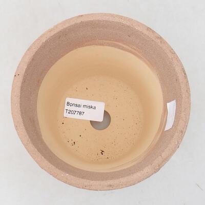 Ceramiczna miska bonsai 13 x 13 x 13 cm, kolor spękany - 3