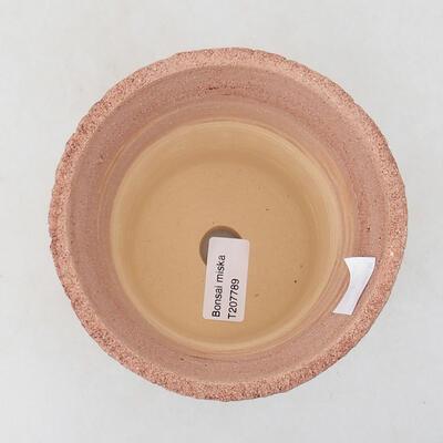 Ceramiczna miska bonsai 12 x 12 x 14 cm, kolor spękany - 3