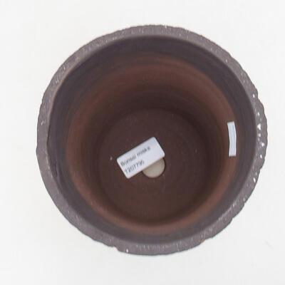 Ceramiczna miska bonsai 14 x 14 x 17 cm, kolor spękany - 3