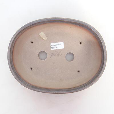 Miska Bonsai 26 x 20 x 7,5 cm, kolor brązowy - 3