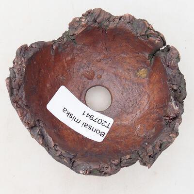 Powłoka ceramiczna 7,5 x 8 x 5 cm, kolor szaro-brązowy - 3