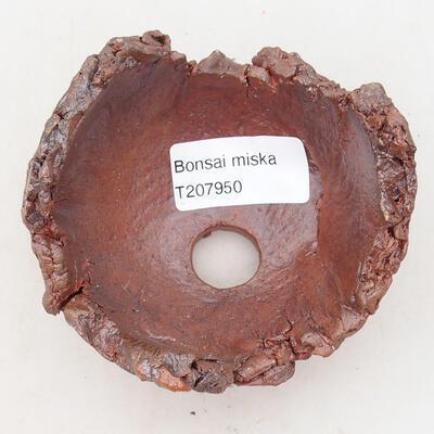 Powłoka ceramiczna 7,5 x 7,5 x 6,5 cm, szaro-brązowa - 3