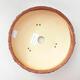 Ceramiczna miska bonsai 20 x 20 x 6 cm, kolor szaro-zielony - 3/3