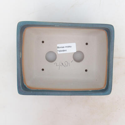 Miska Bonsai 17 x 13 x 7 cm, kolor niebieski - 3