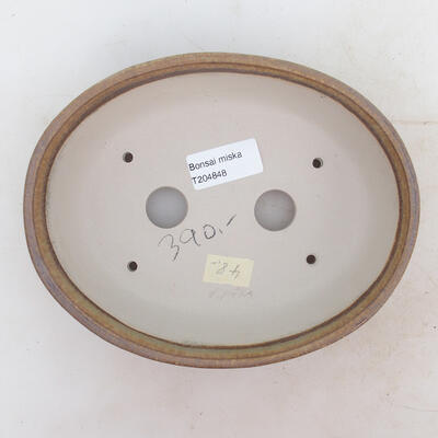Miska Bonsai 19 x 15 x 5 cm, kolor brązowy - 3