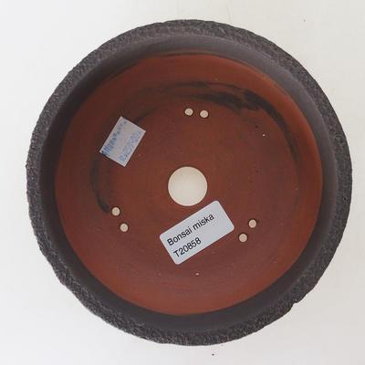Ceramiczna miska bonsai 15,5 x 15,5 x 6 cm, popękany kolor - 3