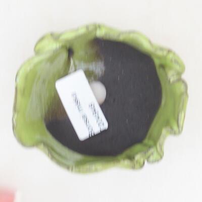 Ceramiczna powłoka 8 x 7,5 x 5 cm, kolor zielony - 3