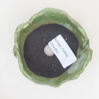 Ceramiczna powłoka 7,5 x 7 x 4,5 cm, kolor zielony - 3