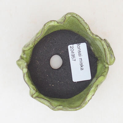 Ceramiczna powłoka 7 x 7 x 5 cm, kolor zielony - 3