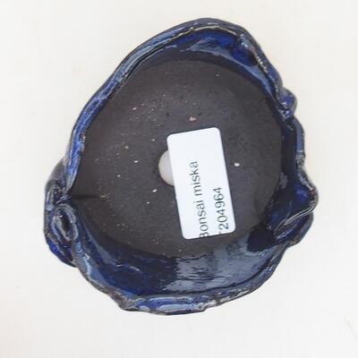 Ceramiczna powłoka 7,5 x 7 x 5 cm, kolor niebieski - 3