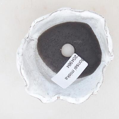 Ceramiczna powłoka 8 x 7,5 x 5 cm, kolor biały - 3