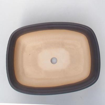 Ceramiczna miska bonsai H 08 - 24,5 x 18 x 7 cm - 3
