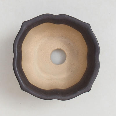Miska Bonsai + taca H95 - miska 7 x 7 x 4,5 cm, taca 7 x 7 x 1 cm - 3