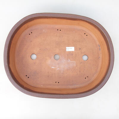 Miska Bonsai 40 x 31,5 x 10,5 cm, kolor szaro-beżowy - 3