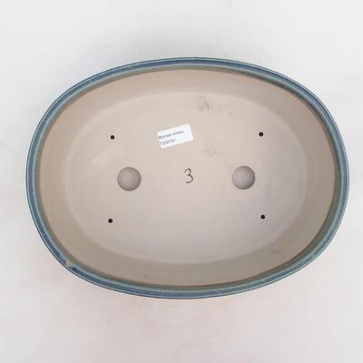 Miska Bonsai 31 x 24 x 10 cm, kolor niebieski - 3