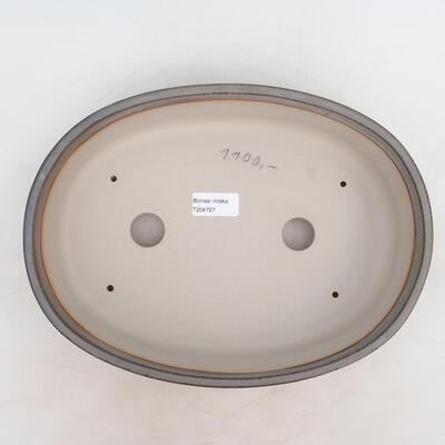 Miska Bonsai 30,5 x 22,5 x 7,5 cm, kolor szary - 3