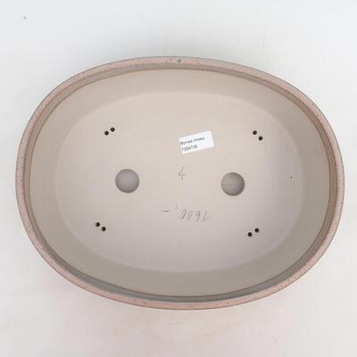 Miska Bonsai 33,5 x 26 x 9,5 cm, kolor szaro-beżowy - 3