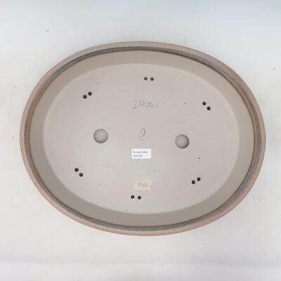Miska Bonsai 45 x 35,5 x 8,5 cm, kolor beżowo-szary - 3