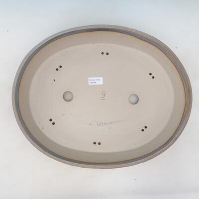 Miska Bonsai 44,5 x 35,5 x 8,5 cm, kolor beżowo-szary - 3