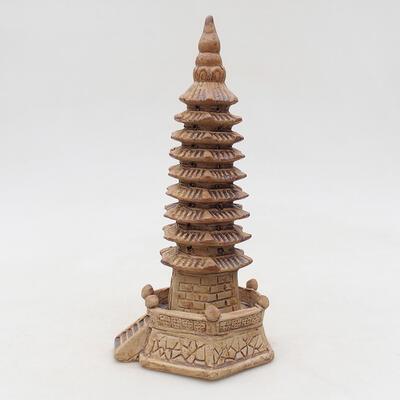 Figurka ceramiczna - Pagoda F15-1 - 3
