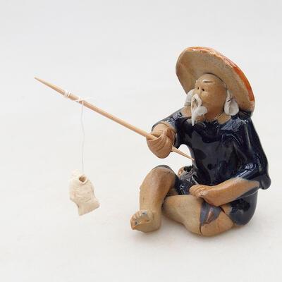 Figurka ceramiczna - Rybak F25 - 3