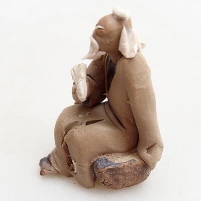 Figurka ceramiczna - Stick figure H0-3 - 3
