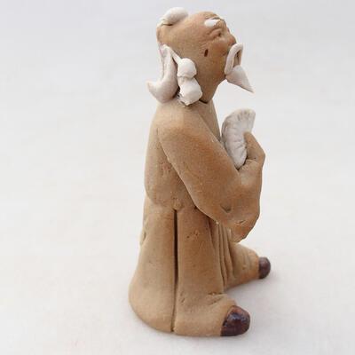 Figurka ceramiczna - Stick figure H26v - 3