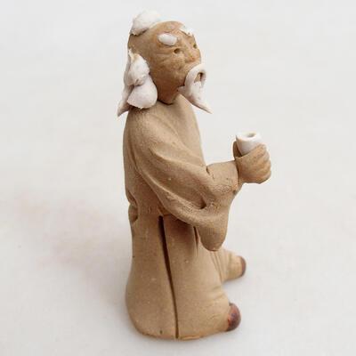 Figurka ceramiczna - Stick figure H27p - 3