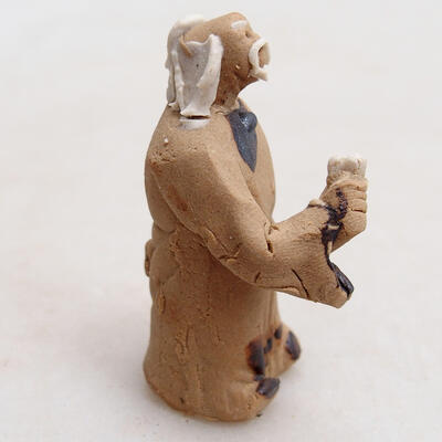 Figurka ceramiczna - Stick figure H28 - 3