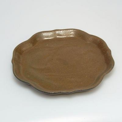 Taca z miską Bonsai H06 - miska 14,5 x 14,5 x 4,5, taca 13,5 x 13,5 x 1,5 cm - 3