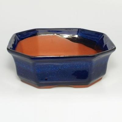 Taca miska Bonsai H14 - miska 17,5 x 17,5 x 6,5, taca 17,5 x 17,5 x 1,5 - 3