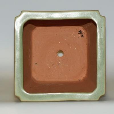 Ceramiczna miska bonsai H 22 - 17,5 x 17,5 x 29 cm - 3