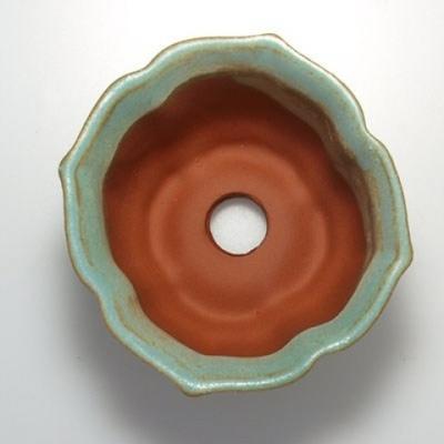 Ceramiczna miska bonsai wys. 95 - 7 x 7 x 4,5 cm - 3
