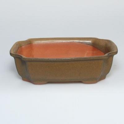 Miska Bonsai + spodek H17 - miska 14,5 x 10,5 x 4,5 cm, spodek 14,5 x 10 x 1 cm - 3