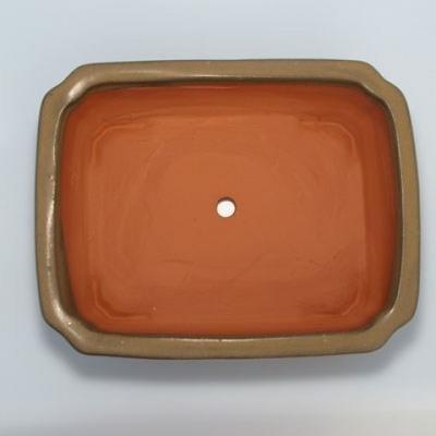 Ceramiczna miska bonsai H 20 - 26,5 x 21 x 7,5 cm - 3