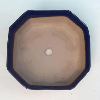 Ceramiczna miska bonsai H 14 - 17,5 x 17,5 x 6,5 cm - 3