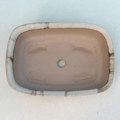 Ceramiczna miska bonsai H 02 - 19 x 13,5 x 5 cm - 3