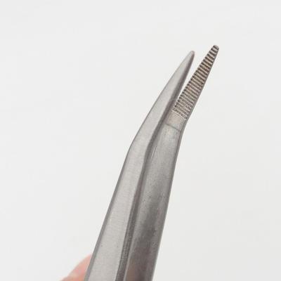 Łopatka i zakrzywione pincety 22 cm - stal nierdzewna - 3