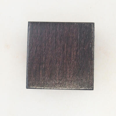 Drewniany stół pod bonsai brązowy 3 x 3 x 1,5 cm - 4