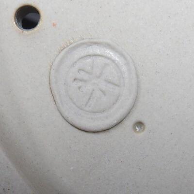 Miska Bonsai 22 x 16,5 x 6 cm, kolor szaro-beżowy - 4