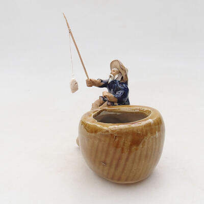 Figurka ceramiczna - Rybak F17 - 4