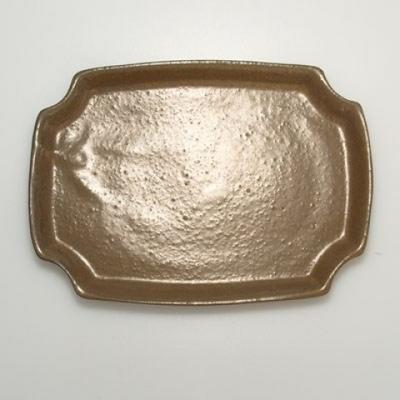 Miska Bonsai + spodek H17 - miska 14,5 x 10,5 x 4,5 cm, spodek 14,5 x 10 x 1 cm - 4