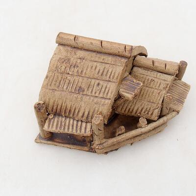 Figurka ceramiczna - Szałas F28 - 5